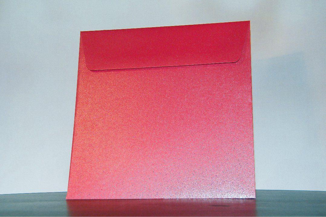 Φάκελος επιχρισμένος Κόκκινος