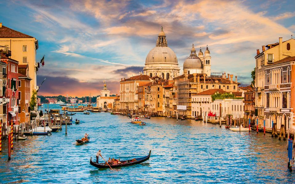 Γαμήλιο ταξίδι στην Βενετία